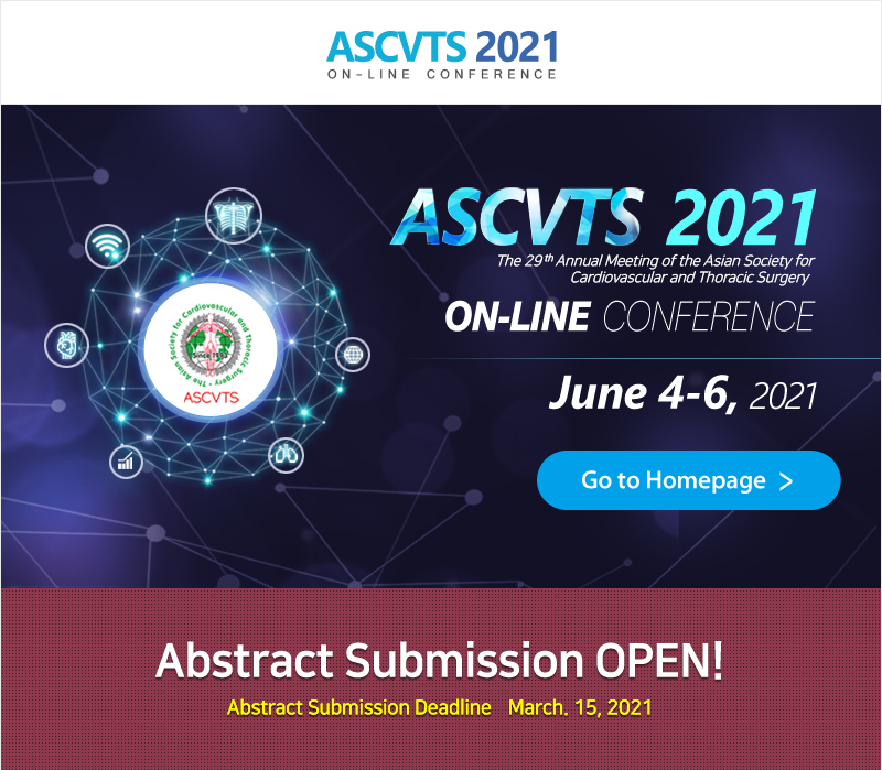 ASCVTS 2021 Abstract Submission Open